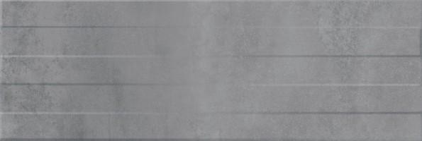 Плитка настенная O-CON-WTA092 Concrete Stripes Рельеф Серый 29x89 Mei