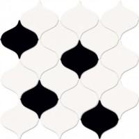 Мозаика настенная O-MAG-WIN451 Magnifique Mosaic Многоцветная 28.1x29.3 Mei