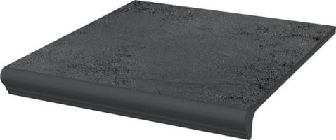 Ступень Semir Grafit простая с носиком структурная 30х33 Paradyz