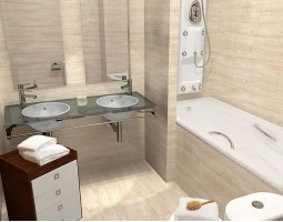 Плитка Travertino (Porcelanosa)
