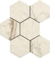 Керамогранит напольный R4TA Bistrot Calacatta Michelangelo 21x18,2 Ragno