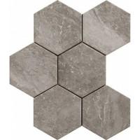 Керамогранит напольный R4TE Bistrot Crux Grey 21x18,2 Ragno