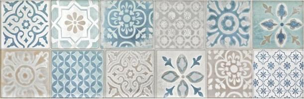 Декор R4YM Frame decoro Milk 25x76 Ragno