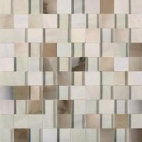Мозаика настенная 739966 Alabastri Di Rex Bamboo Mosaico 3D 3x3 Lap Ret 30x30 Rex Ceramiche