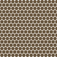 Мозаика настенная 735611 Extra Light Mosaico Circle Zinc 30x30 Rex Ceramiche