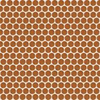 Мозаика настенная 735842 Extra Light Mosaico Circle Ocher 30x30 Rex Ceramiche