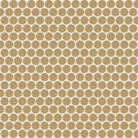 Мозаика настенная 735843 Extra Light Mosaico Circle Mink 30x30 Rex Ceramiche