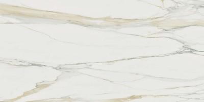 Керамогранит напольный 757835 I Classici Di Rex Calacatta Gold Glossy Ret 6mm 120x280 Rex Ceramiche