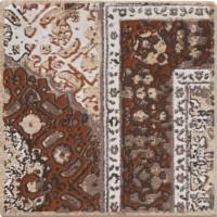 Декор 1046937 Riabita Il Cotto Ins.S/4 Pattern Pz Be 10x10 Cir Ceramiche