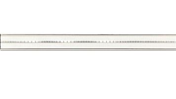 Бордюр Abisso white 74.8x7.2Tubadzin