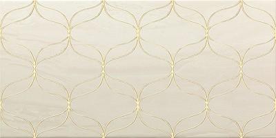 Декор Vitra Ethereal Gold 30x60 светло-бежевый K082255