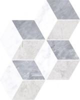 Мозаика настенная K946652 Marmori Ромб Холодный Микс 28.5х29.5 Vitra