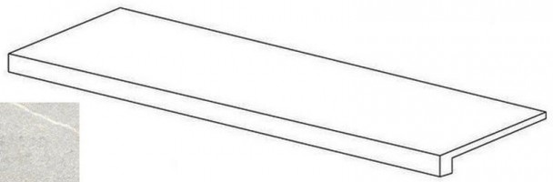 Фронтальная ступень Napoli Серый R10 7РЕК 30x60 Vitra
