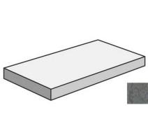 Угловая ступень Napoli Антрацит R10 7РЕК 30x60 Vitra