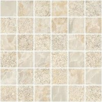 Мозаика Vitra Marble-X-Stone Кремовый (5х5) 30х30 K9498848R001VTE0