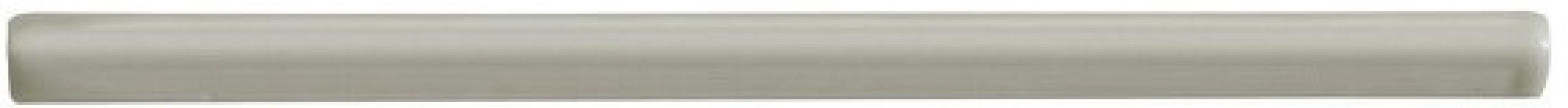 Бордюр Neri ADNE5585 Bullnose Trim Silver Mist 0.85x15 Adex