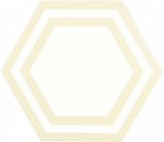Декор ADPV9017 Pavimento Hexagono Deco Bone 20x23 Adex