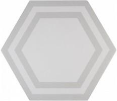 Декор ADPV9019 Pavimento Hexagono Deco Light Gray 20x23 Adex
