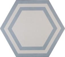 Декор ADPV9021 Pavimento Hexagono Deco Azure 20x23 Adex