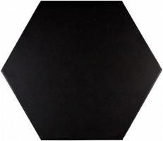 Керамогранит ADPV9015 Pavimento Hexagono Black 20x23 Adex