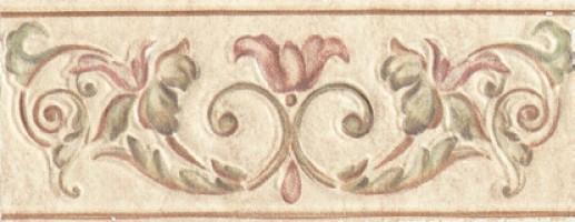 Бордюр Listello Affreschi 8x20 Alta Ceramica