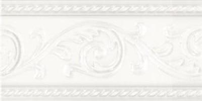 Бордюр Caprichosa Cenefa Yara Blanco 7.5x15 Carmen
