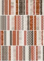 Панно AB3081 Aquarelle Vitrail-4 Rosso компл. 4 шт. 75х100 Arcana Ceramica
