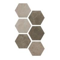 Керамогранит Hexagon Multi Cold 25x22 Argenta