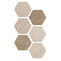 Керамогранит Hexagon Multi Warm 25x22 Argenta