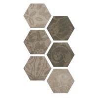 Керамогранит Hexagon Patchword Cold 25x22 Argenta
