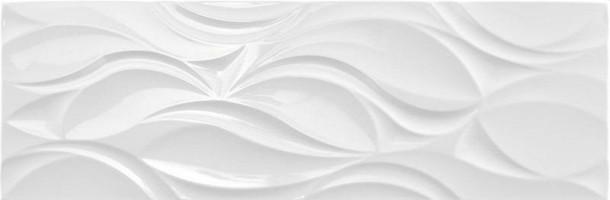 Настенная плитка NARVAL WHITE BRILLO 30x90 Argenta