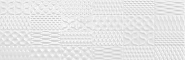 Настенная плитка SINAN DECOR WHITE BRILLO 30x90 Argenta