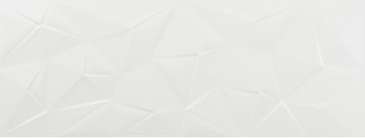 Плитка Azulev Rev. Clarity Kite Blanco Matt Slimrect 25x65 настенная