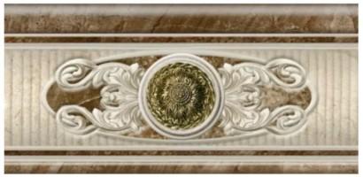 Декор Azulev Legend Listelo Decoro Crema 12x25