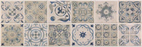 Плитка Baldocer Ozone Mosaico Antique Grey 30x90 настенная