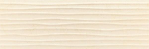 Плитка Baldocer Velvet Wellen Cream 30x90 настенная