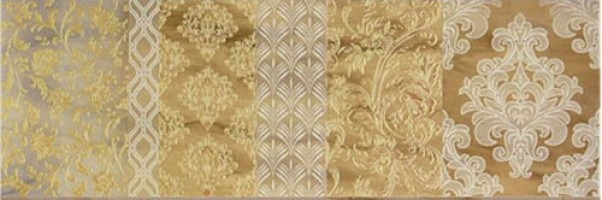 Декор Brennero Venus Dec. Arabesco Visone 25x75
