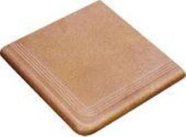 Угловая ступень Montserrat Beige 0868E0 Peldano Coner 31.5x31.5 Calaf