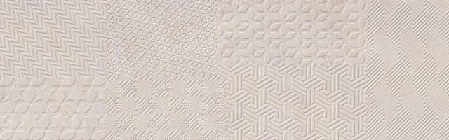 Настенная плитка Materia Textile Ivory 25x80 Cifre Ceramica