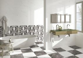 Керамическая плитка Estatuario-Nero (Click Ceramica)