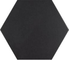 Керамогранит Codicer Basic Hex 25 Black 25x22