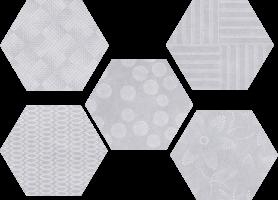 Керамогранит Hex 25 Glam Ddg Mix 22x25 Codicer