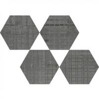 Керамогранит Hex 25 Skyline Anthracite Mix 22x25 Codicer