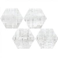 Керамогранит Hex 25 Skyline White Mix 22x25 Codicer