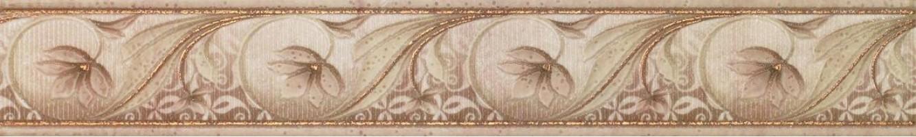 Бордюр Constanza Cenefa Coimbra Oro 9x60 Cristacer