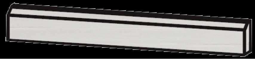 Плинтус Mutina Flow white 3.8x60