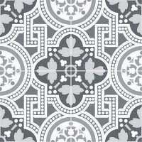 Плитка напольная Chic Seaford Grey 45x45 (Dualgres)