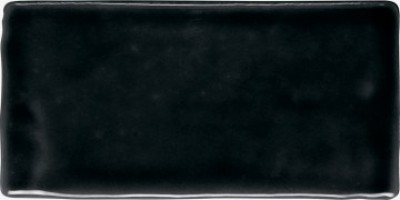 Настенная плитка 226658 Atelier Black Glossy 7.5x15 Dune