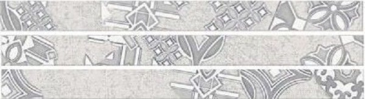 Настенный бордюр 586061001 Provence Grey Avignon комп.3 шт 6.2x212.7 Eletto Ceramica