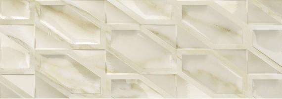 Плитка Fanal Calacatta Gold Hexa Gloss 31.6x90 настенная